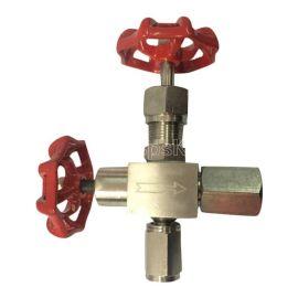 J29W-160P压力表针阀不锈钢304 316压力表针型阀DN8 10 15 20 3分