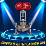 廠家直銷比例溫控蒸汽閥門 dn50鑄鋼法蘭高溫鍋爐蒸汽調節閥門