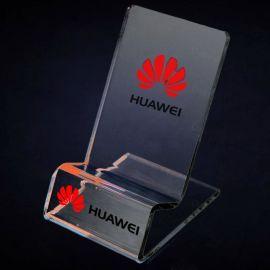 亞克力手機展示支架透明數碼產品展架對講機U盤架子廠家低價批發