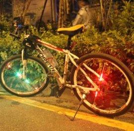 自行车风火轮LEDlighting 车轮装饰 ,山地车DIY装备 车灯-003