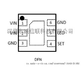 广告灯箱景观照明VAS1085B高功率输出LED驱动IC