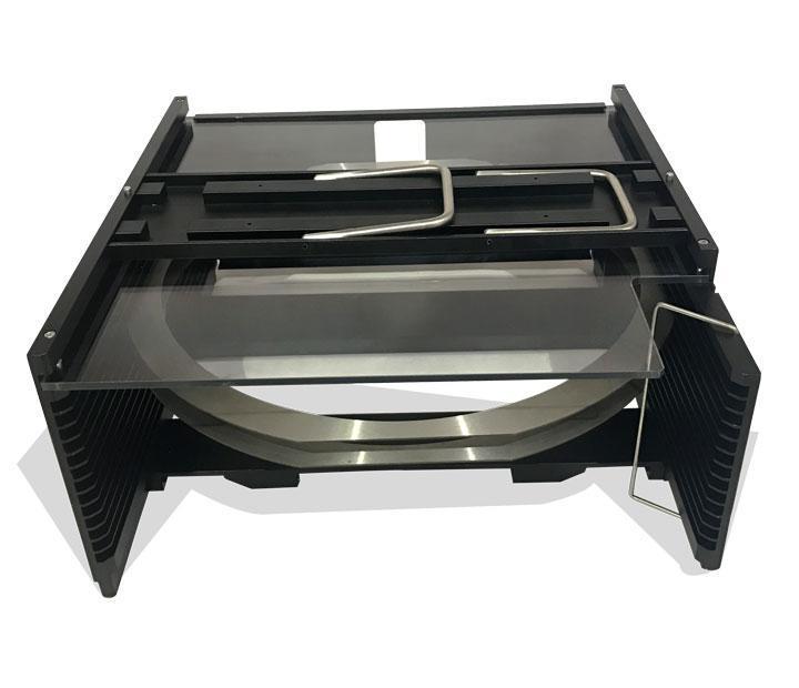 厂价直销12寸晶圆框架盒 wafer cassette 铝合金晶圆提篮