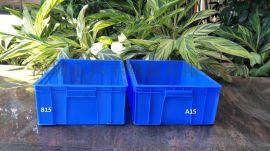 乔丰塑胶供应电子元件箱螺丝箱继电器塑料箱可堆塑料箱塑胶箱600*500*360