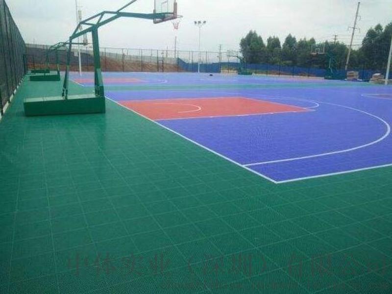 廣西籃球場地膠矽pu運動地板塑膠場地
