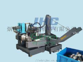 格润金属切屑全自动液压双出料压块机压力机