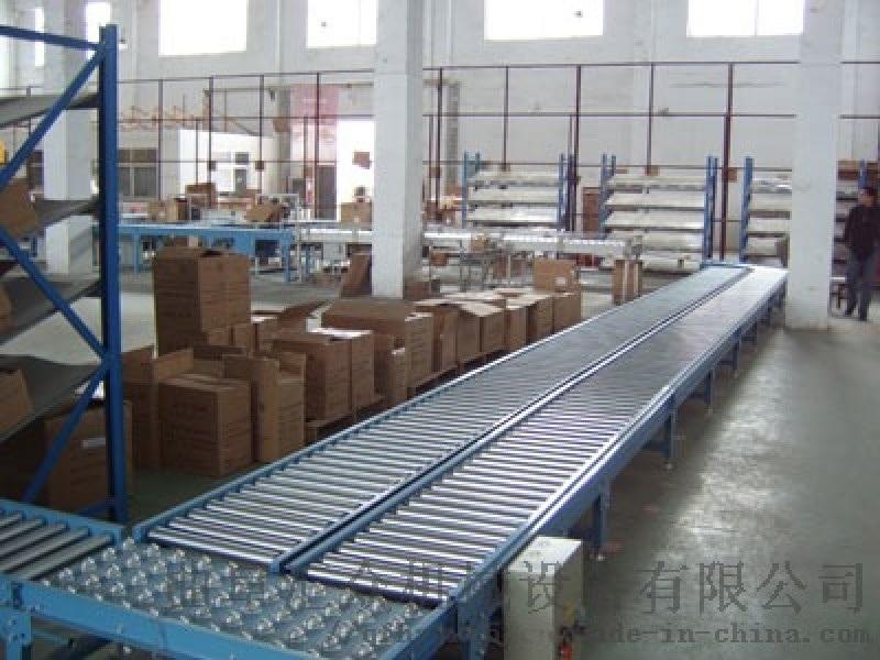 雙層動力滾筒輸送線多用途 水準輸送滾筒線