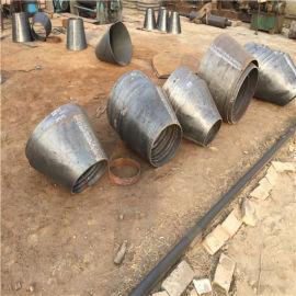 广州碳钢厚壁DN150*100偏心异径管加工生产