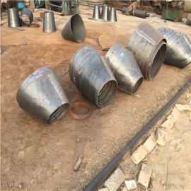 廣州碳鋼厚壁DN150*100偏心異徑管加工生產
