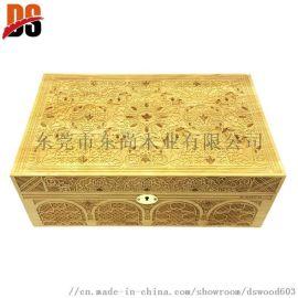 编号:PWH001 木制高光雪茄盒
