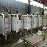 山东梁山市场加工定做各种型号不锈钢储罐   搅拌罐
