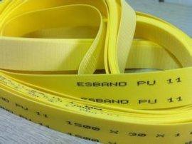 进口PU传动带 聚氨酯传送带 无缝平皮带 橡胶无缝平面带 可订做