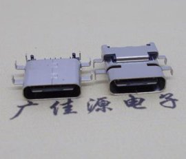 USB 3.1Type-C接口沉版前插后贴版上型