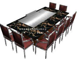 深圳市鑫嘉华厨具设备有限公司,铁板烧设备,日式铁板设备
