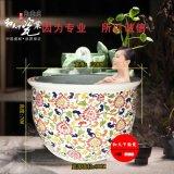 定做洗浴大缸 温泉洗浴大缸 陶瓷泡澡大浴缸 温泉大缸厂