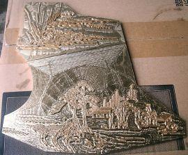 供应红铜 电热压模具 商标铜 铝 定制加工 北京精雕专业雕刻