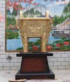 青铜器鼎盛千秋 定做大型铜工艺品 人物佛像