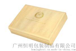 广州恒明包装皮具雕刻烫金化妆品包装