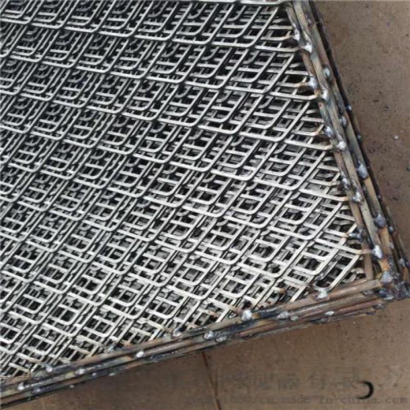 阻燃鋼筋網片 鋼板衝壓菱型圈邊網