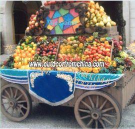 售货车厂家供应游乐园景区售卖亭小吃车