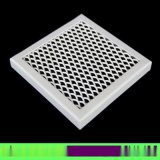 氟碳拉网铝单板 外墙装饰白色网型铝合金拉网板