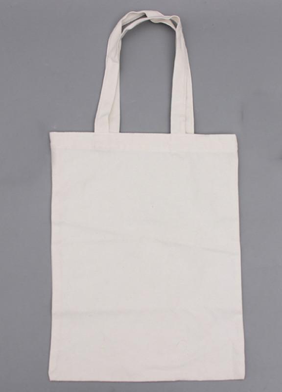 帆布袋空白滌棉環保麻繩手提棉布袋定製可加印LOGO