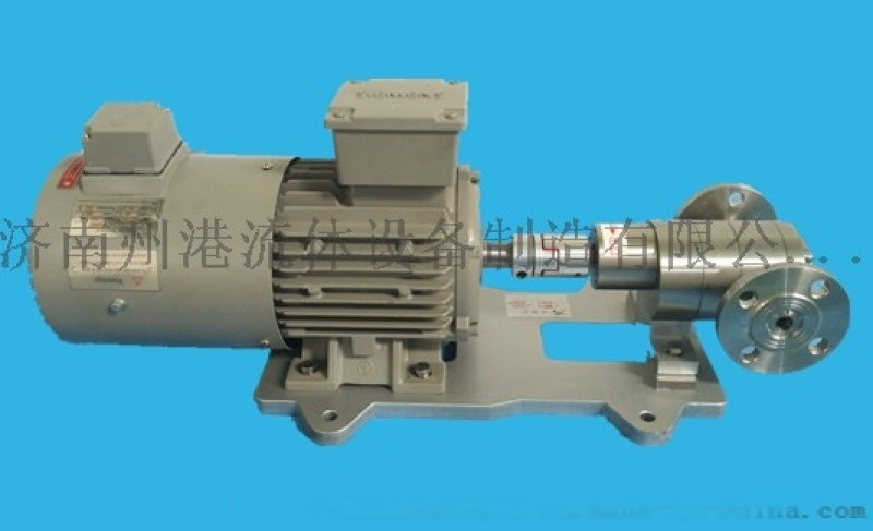 濟南州港專業生產FA系列耐腐蝕不鏽鋼齒輪計量泵
