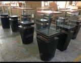 木质烤漆珠宝展示柜博物馆玻璃带锁展柜