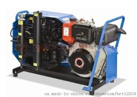 蓝色盖玛特充气泵MCH6/ET国产18361662276消防空气填充泵
