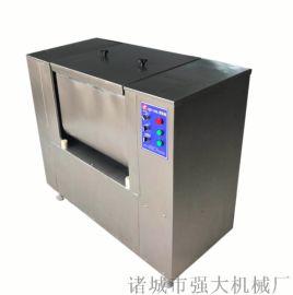 真空拌馅机 速冻饺子加工厂用双绞龙拌馅机