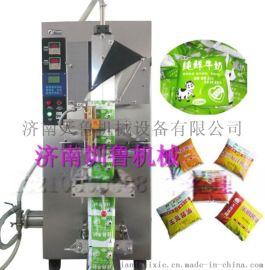 聊城全自动酱油醋包装机v袋装液体灌装机