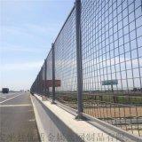 浸塑桥梁防抛网绿色防坠物护栏网边框围栏网
