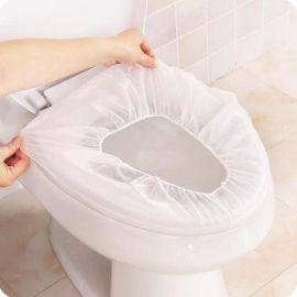 一次性马桶垫无纺布无荧光防水隔脏马桶套酒店旅行坐便套孕产妇