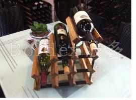 波多新型A网形组合式红酒架7瓶