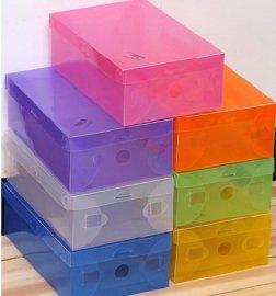 塑料透明翻盖式鞋盒