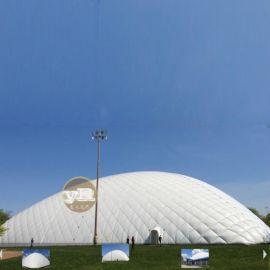 景观张拉膜结构 大型充气膜帐篷工业环保膜建筑体育场