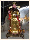 神像雕塑厂家,文判官武判官玻璃钢塑造生产厂家