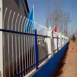 方管鐵藝圍欄網 噴塑鋅鋼護欄網 工業廠區防護柵欄