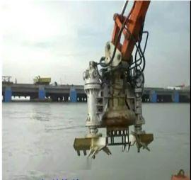 JHW自搅拌泵 液压搅拌泥砂泵 挖机搅拌沙浆泵