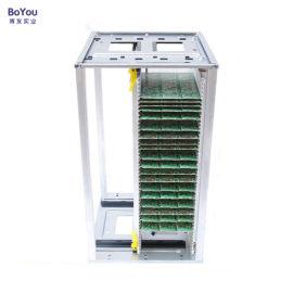 铝合金防静电SMT上下料架压扣调节式料架