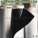 农膜大棚防寒进口料pep黑白膜菌棚膜纯黑膜