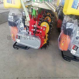 玉米小麦汽油播种施肥机/汽油玉米小麦中耕播种施肥机