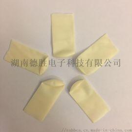 切口一次性防静电乳胶无硫手指套1000PCS每袋