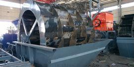 山东时产100吨旱沙制砂机生产线