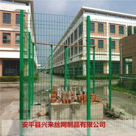 桃形护栏网 车间隔离护栏网 铁丝网施工
