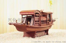 红酸枝红船模型礼品嘉兴南湖红船礼盒