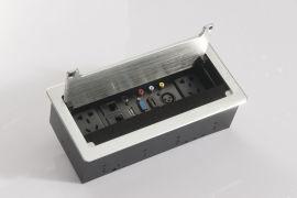 唯立玛VF-003桌面信息插座 翻盖毛刷线盒