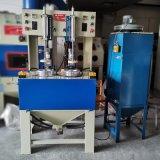 永康喷砂机厂家, 铜件水壶内胆转盘喷砂机