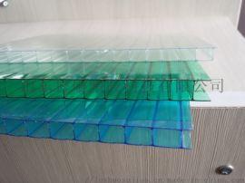 聊城湖藍色防紫外線陽光板車棚
