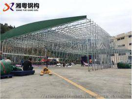 厂家直销汽车帆布伸缩遮阳雨棚大型活动雨棚长期供应