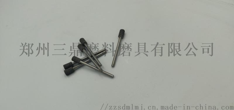 坐标磨床专用38铬钼铝陶瓷CBN磨头钨钢加长杆